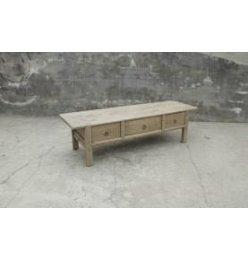 Mesa de café con cajones 174