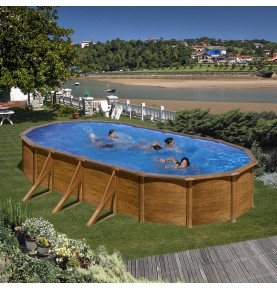 Piscina OVAL PACIFIC I serie DREAM POOL