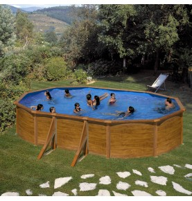 Piscina OVAL PACIFIC II serie DREAM POOL