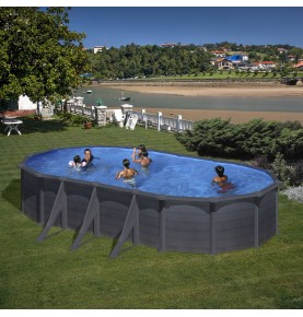 Piscina OVAL GRANADA I serie DREAM POOL