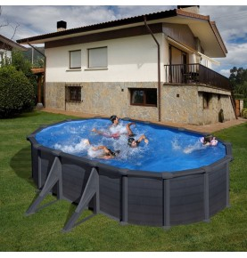 Piscina OVAL GRANADA II serie DREAM POOL
