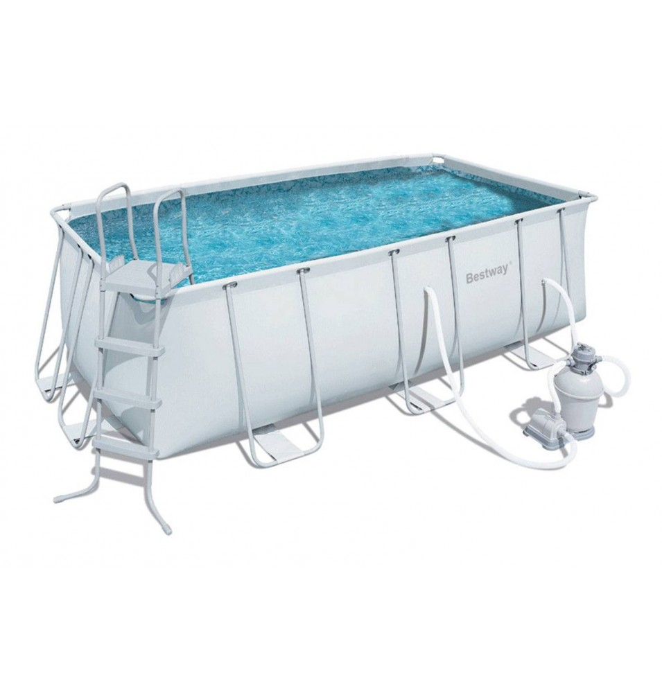 PISCINA POWER STEEL RECTANGULAR XVIII