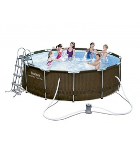 PISCINA POWER STEEL DISEÑO RATTAN I