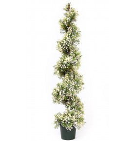SETO ESPIRAL FLOR MINI ARTIFICIAL 160 CM
