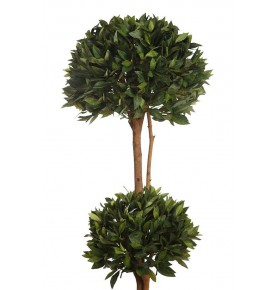 ÁRBOL DE LAUREL ARTIFICIAL DOBLE BOLA 160 CM