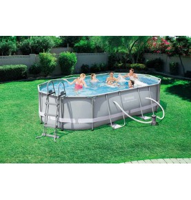 PISCINA POWER STEEL OVAL III