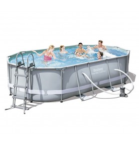 PISCINA POWER STEEL OVAL IV