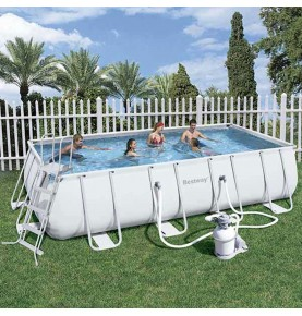 PISCINA POWER STEEL RECTANGULAR XI