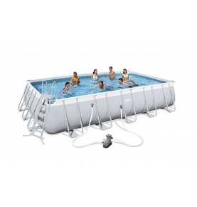 PISCINA POWER STEEL RECTANGULAR XII