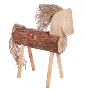 CABALLO DECORATIVO TRONCO 50 CM
