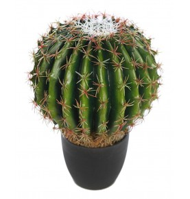 CACTUS BARREL ARTIFICIAL 35 CM